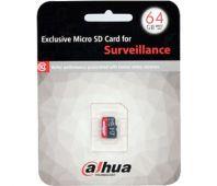 Флеш-карта micro SD на 64 Гб DH-PFM112